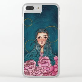 Burning Midnight Clear iPhone Case