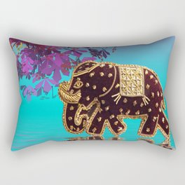 elephant fantasy -1- Rectangular Pillow