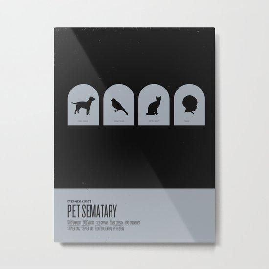 Pet Sematary Metal Print