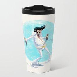 Elvis the Pelvis Metal Travel Mug