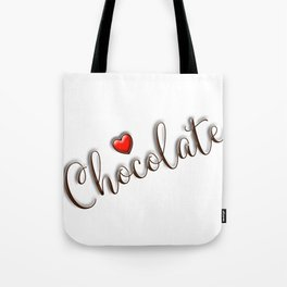 Love Chocolate Tote Bag