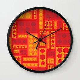 They Look Like Legos! Wall Clock