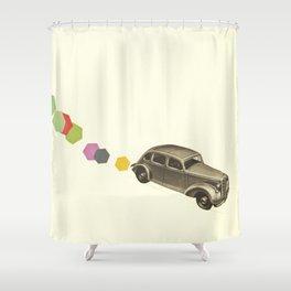 Bang Bang Shower Curtain