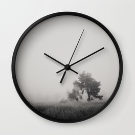 the fog ... Wall Clock