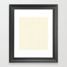 Textile Inspired Framed Art Print