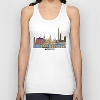 dc Tank Tops featuring washington dc  by bri.buckley