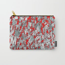The letter matrix RED Carry-All Pouch