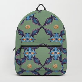 Blue Stars with Orb Backpack