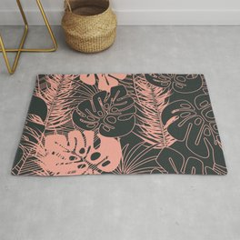 Tropical pattern 034 Rug