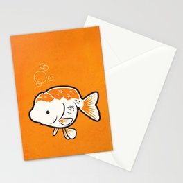 Ranchu Goldfish Stationery Cards