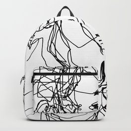 Boys kiss too Backpack