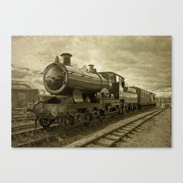 City of Truro Canvas Print
