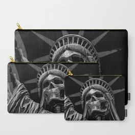 Liberty or Death B&W Carry-All Pouch
