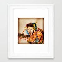 fresh prince Framed Art Prints featuring THE FRESH PRINCE 1.0 by hssingh7