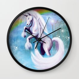 Unicorn and Sparkles - Day Wall Clock