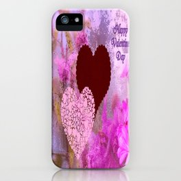 Happy Valentine`s Day iPhone Case