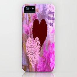 Happy Valentine`s Day iPhone Case