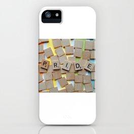 LGBT Pride Tiles iPhone Case