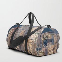 new york skyline manhattan hudson Duffle Bag