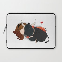 Embrace the Bull Laptop Sleeve