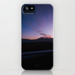 Blue Hour in Lake Mathews CA iPhone Case