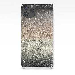 Sparkling GOLD BLACK Lady Glitter #2 #decor #art #society6 iPhone Case