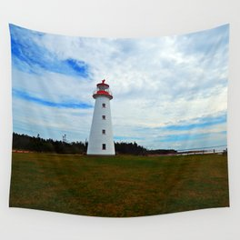 Point Prim Lighthouse and Shore Wall Tapestry