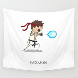 Hadouken! Wall Tapestry