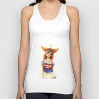 3d Tank Tops featuring 3D by Kate  Fox