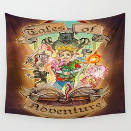 Tales of Adventure Wall Tapestry