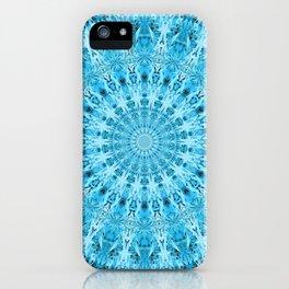 Mary Jane Mandala (blue) iPhone Case