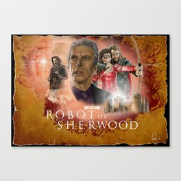Doctor Who: Robot of Sherwood Canvas Print