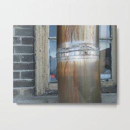 Pillar and Post Metal Print