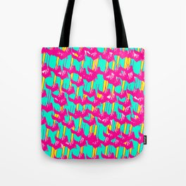 Pink March Tote Bag