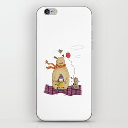 FLYING CARPET iPhone Skin