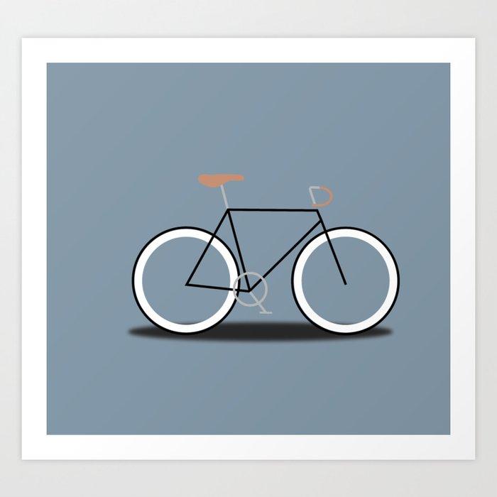 Fixie Bike Kunstdrucke