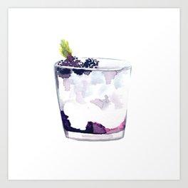 Cocktail no 5 Art Print