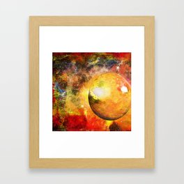 Planet HZ 439 Framed Art Print