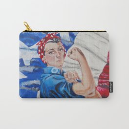 Rosie the Riveter Carry-All Pouch