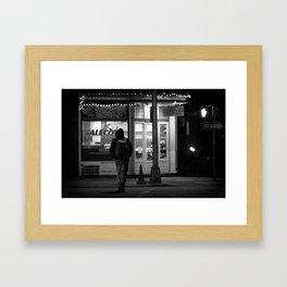 Harrisburg PA Street Photo Framed Art Print