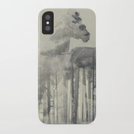 Like a Horse in the woods iPhone Case