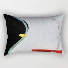 Eliminate Clutter (oil on canvas) Rectangular Pillow