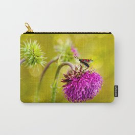 Butterfly and а thistle Carry-All Pouch