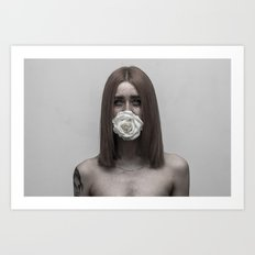Sealed with a Kiss Art Print