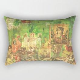 Peace Angels Rectangular Pillow