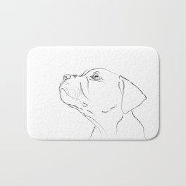 American Staffordshire Terrier Bath Mat
