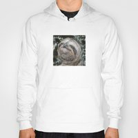 sloth Hoodies featuring Sloth by Bruce Stanfield