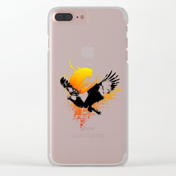 The Eagle that touched the Sun Clear iPhone Case