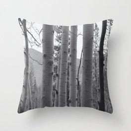 Colorado Aspen Grove Throw Pillow