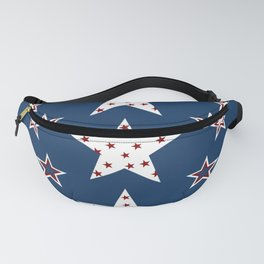 Celebrate America Stars In Red White And Blue Fanny Pack
